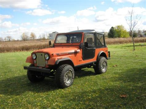 1979 Jeep Renegade For Sale Buy Used 1979 Jeep Cj7 Renegade Sport Utility 2 Door 5 0l