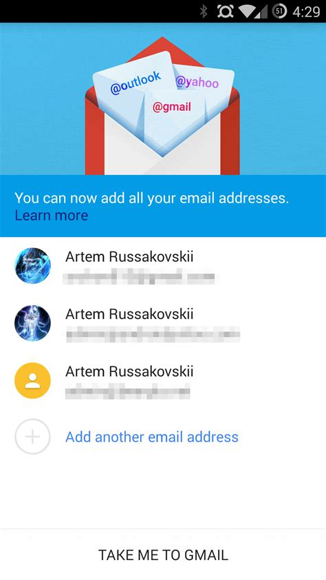 stock email apk gmail 5 0 with exchange support and material design has landed apk