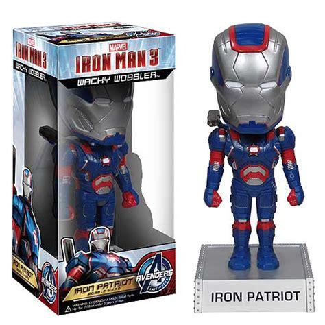 Iron Booblehead iron 3 iron patriot 7 inch bobble funko iron bobble heads at