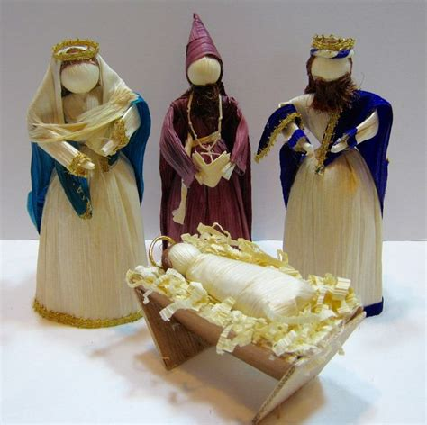 corn husk doll nativity set 12 best mexican corn husk dolls images on corn
