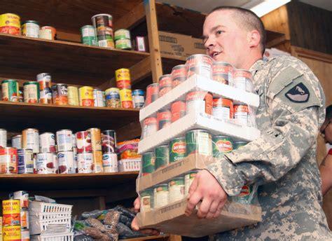 lifetime food bank helps soldiers