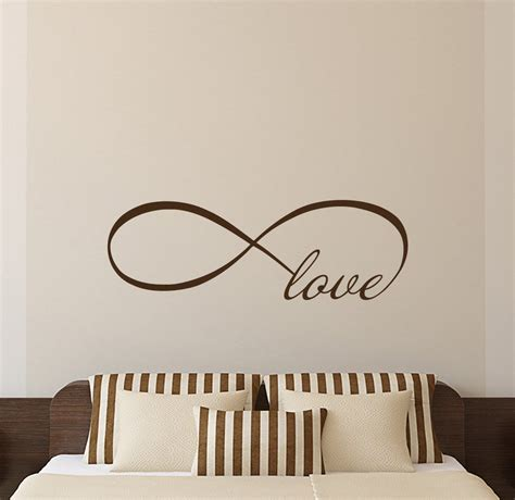 Wall Sticker Infinity Home Decal Room Decor 1 wall quote stickers espanol kitchen laundry