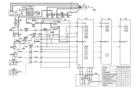volvo   wiring diagrams clock carknowledge