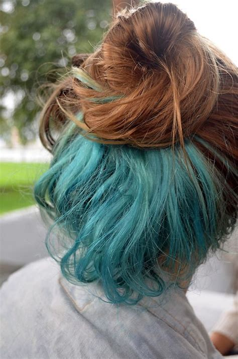 my hair under top layer is wacy 25 best ideas about dyed hair underneath on pinterest