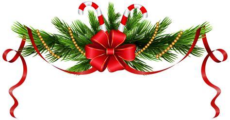 christmas decorations images clip art pine branches decoration png clip best web clipart