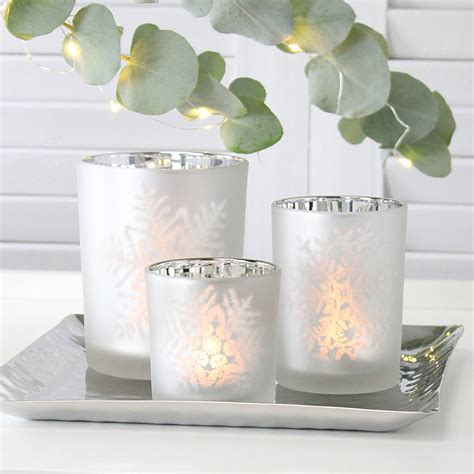 snowflake tea light holders snowflake tealight holders by marquis dawe