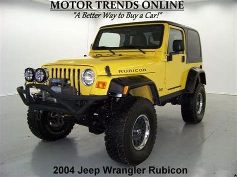 where to buy car manuals 2004 jeep wrangler transmission control buy used rubicon hardtop 4x4 lifted kc lights smitty built bumpers 2004 jeep wrangler 47k in