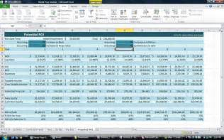 real estate investment template investment property spreadsheet real estate excel roi
