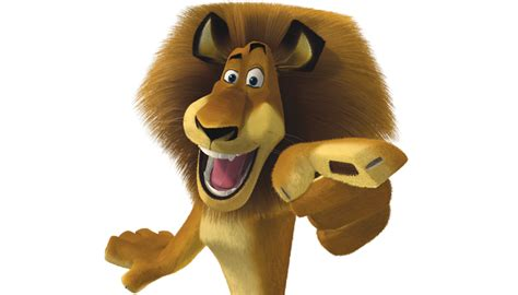 madagaskar film lion name alex personnages madagascar