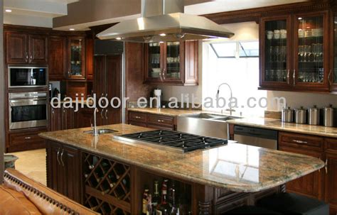 solid wood kitchen cabinets made in china