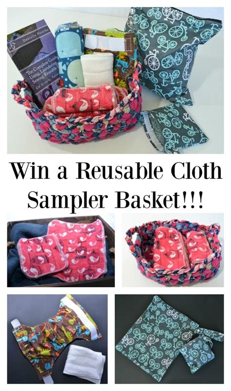 Diaper Giveaways - guide to using laundering and sewing reusable products