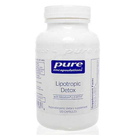 Vitamin Pak Used By Doctors For Detox From Alcohal by Lipotropic Detox 180 Capsules
