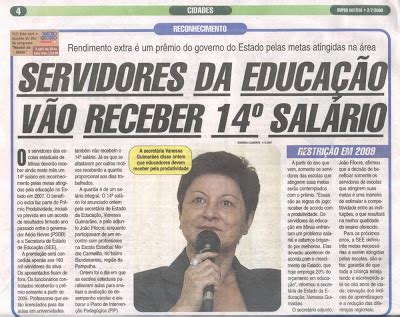salario base de professores da rede publica no estado mg blog da tia lenise deu no blog do professor george quot 14 186