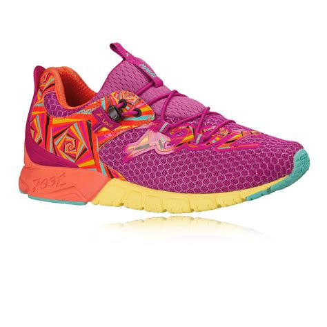 purple sneakers womens zoot makai womens orange purple sneakers running sports