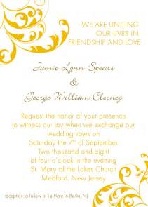 wedding reception invitation templates free