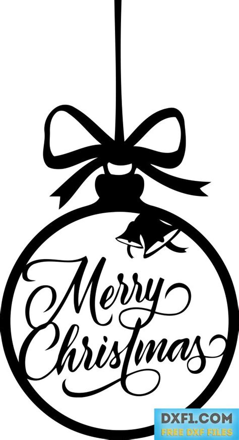 christmas dxf free merry vector dxf cut file free dxf files free cad software dxf1