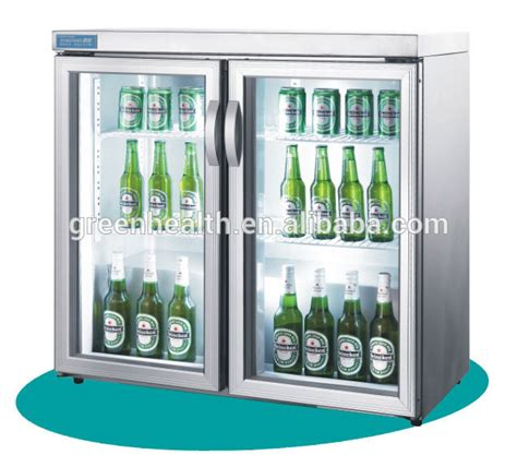Soft Drink Holder Kulkas Spesial green health glass door mini fridge for bar used