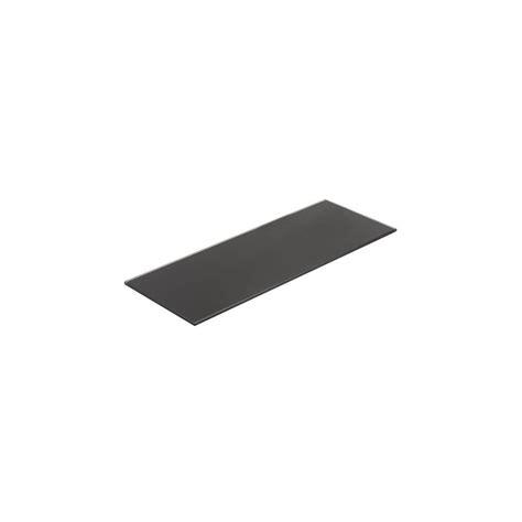 color ccc cristal templado color negro ccc 90x35cm 6mm