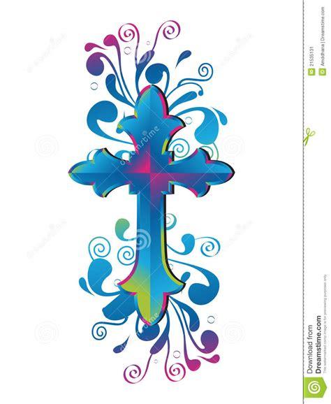 cross decorative stock illustration illustration