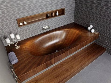 what is a bathtub made of beautiful and natural bathtub that made of wood laguna