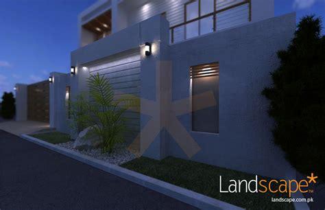 house exterior facade remodeling by landscape pvt ltd