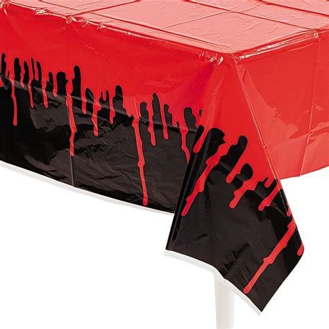 haunted quinceanera doll bloody table cover orientaltrading birthday