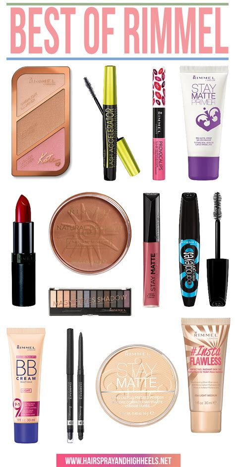 12 Best Products by Rimmel Cosmetics Makeup Vidalondon