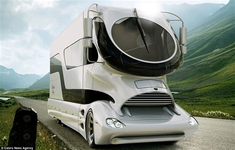World's most expensive motorhome goes on sale for £2m and comes complete with cocktail bar and