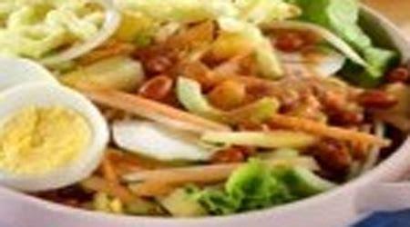 cara membuat salad buah yang lengkap resep salad kacang enak lezat resep masakan nusantara