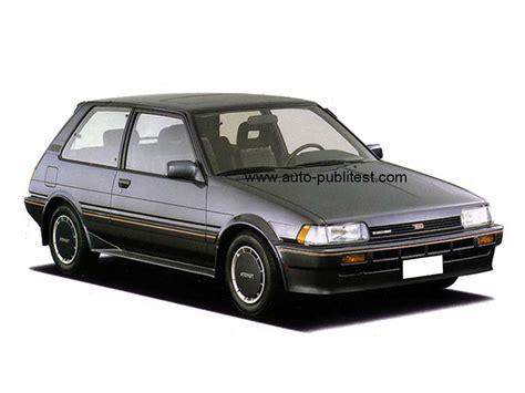 Toyota Ii Toyota Corolla Ii 1984 Careos