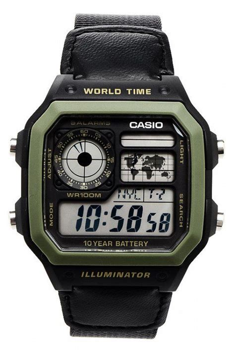 Casio Jam Tangan Ae 1000w 1bvdf Silver 17 best casio iluminator images on casio digital and watches