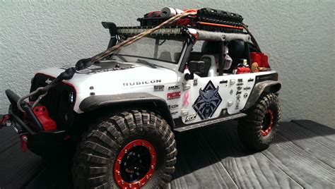 Axial Jeep Axial Scx10 Jeep Wrangler Competition Ready Remote