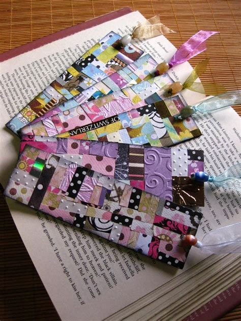 Handmade Bookmarks Ideas - cool bookmark idea crafts bookmark ideas