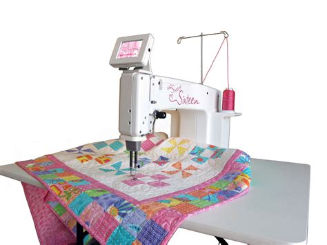 Hq Sixteen Quilting Machine by Sweet Sixteen Quilter Trustitch Stitch Regulator