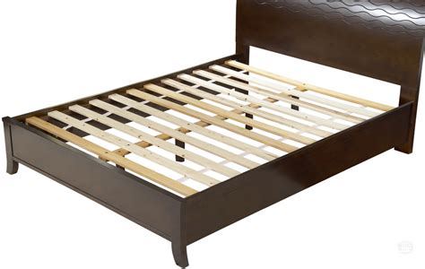 bed frame with slats putting a mattress on wood or steel slats