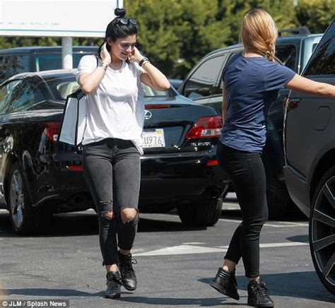 hollywood news yesterday kylie and sofia are out and about in west hollywood in