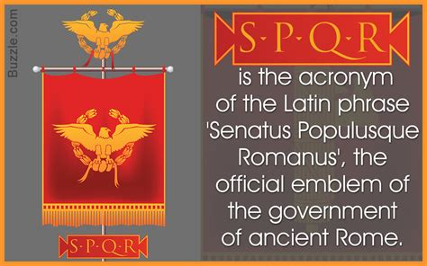 spqr a history of what does roman spqr mean origin and significance