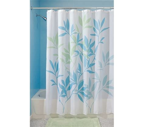 Fun College Items Gentle Leaves Shower Curtain Dorm