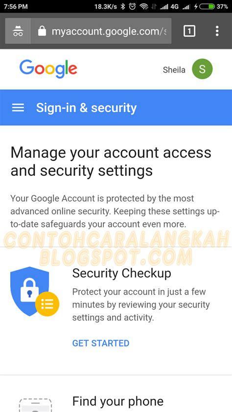 membuat akun gmail dari android cara mengganti password akun google gmail dari hp