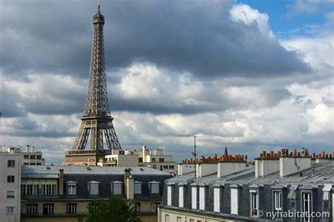 Paris Vacation Apartments with a View of the Eiffel Tower : New York Habitat Blog