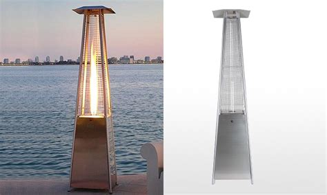 patio heater deals pyramid outdoor gas patio heater groupon
