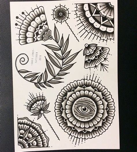 tattoo mandala melbourne geometric flower mandala tattoo flash painted in black ink