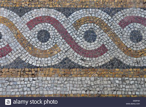 mosaic pattern circles floor mosaic background with circles pattern abstract