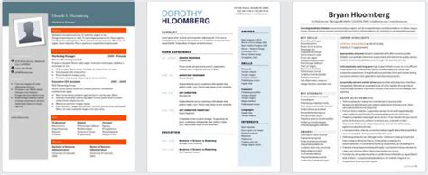 Hloom Resume by Hloom Resume Modern Thevillas Co
