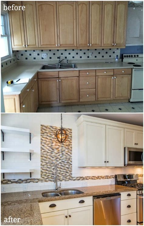 update your cabinets with contact paper fabric backed open kitchen cabinets diy on a dime the