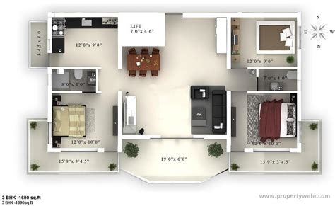 Feng Shui Bedroom Map porsh homes temple view enjambbakam chennai