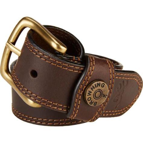 browning s leather slug belt academy