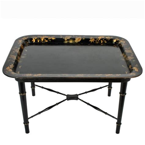 antique coffee table tray top table tray table