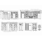 Elevation Of Wine Boutique DWG Free CAD Blocks Download