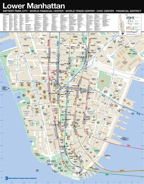 printable map lower manhattan subway map lower manhattan my blog